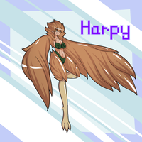 Susan Tallor - Harpy by Inkblot123