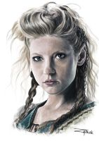 Lagertha Lothbrok by Wojzym