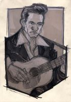 Johnny Cash by DenisM79