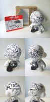 The Killer Gerbil Munny Custom by thekillergerbil