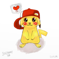 Pikachu by SallyWally30