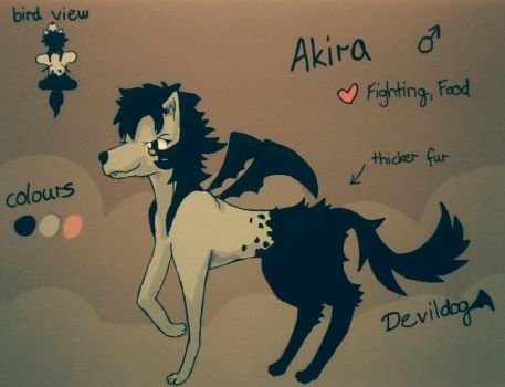 Adoptable - Akira (open, PayPal and points) by Yellyy