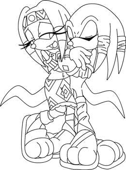 Tikal and Cee .:commission:. by Pendulonium