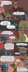 Xael birthday comic by Snapinator