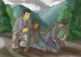 Percy Jackson-- You saved me... by Golden-Flute