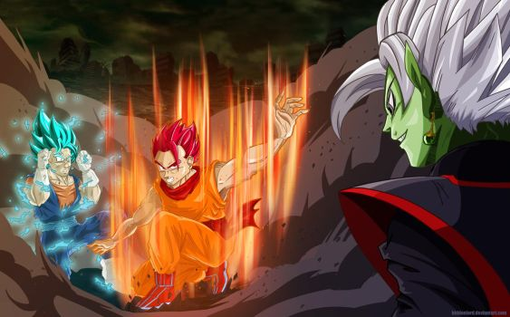 Mystic Gohan God joins the fight against Zamasu! by hiddenlord
