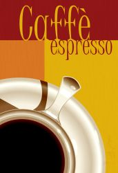Poster - Caffe Espresso by Caelkriss