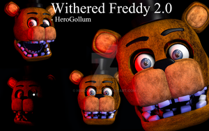 Withered Freddy 2.0 - HeroGollum (FNaF2) by HeroGollum