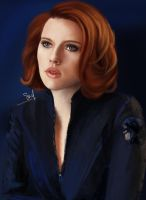 Natasha Romanoff - Black Widow by VikingSif