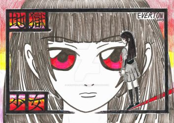Jigoku Shoujo by Everton-LittleTon