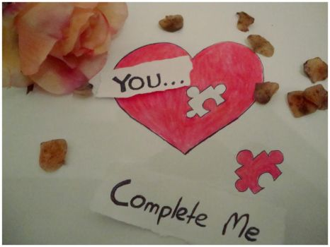 You Complete me by Red--Roses