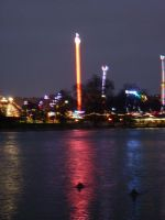 Views of London Christmas/ New year period. by Louvan