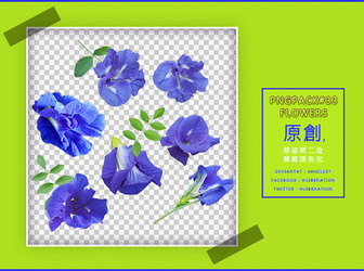 PngPack #33 flowers by ahui1107 by ahui1107