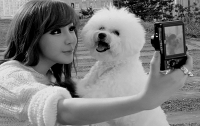 Bom and Poodle 2 by snowflakeVIP