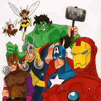 Avengers Assemble by TheEndxTypeANIME