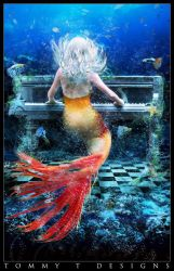 Musical Mermaid by Tommy-T-Designs