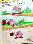 Kirby and the Caterpillar by GhostFullmetal