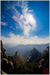 Huangshan - Heaven and Earth by superkev