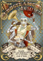 5th Eurosteamcon Andalucia Poster by duVallonFecit