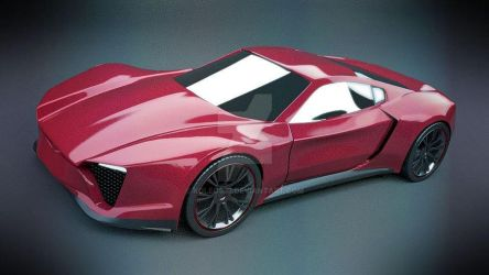 Pantheros coupe concept by koleos33