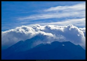 Mountain High Clouds by Atarod