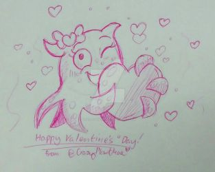 Squishy's Valentine by CrazyPlantMae