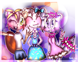 Selfie With Friends by Kuny-chan