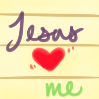 Jesus Loves Me by Hoshi-dono
