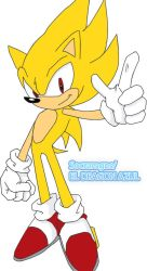SUPER SONIC VERSION 1 IN COLOR by socramgns