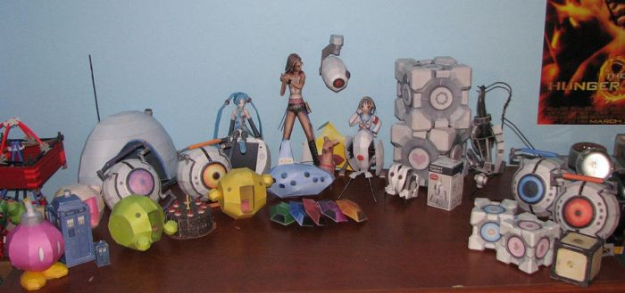 Papercraft Models - 4/28/12 by PotassiumK