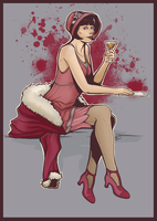 The Hon. Miss Phryne Fisher - Lady Detective by aliceazzo