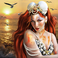 Portrait of a Mermaid by SilviaMS