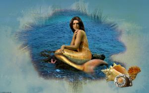Mermaid Ashley Wall1 by e-transitions