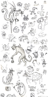 Monster Collection :D by KaiKudo