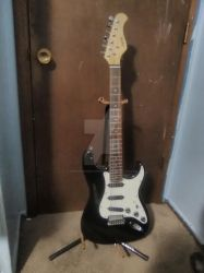 My New Infinite Electric Guitar by amoticanime