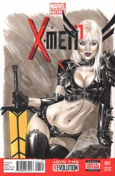 Magik done in Copic by me eBas by ebas