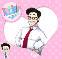 DDLC Fanart - Markiplier by ScribbleNetty