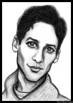 Danny Pudi Sketch by LoveTHYconan