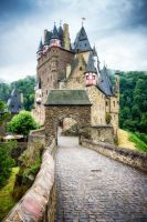 Castle Eltz Gate by wolfblueeyes