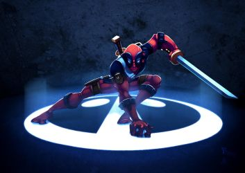 They call me DEAD POOL by JoshawaFrost