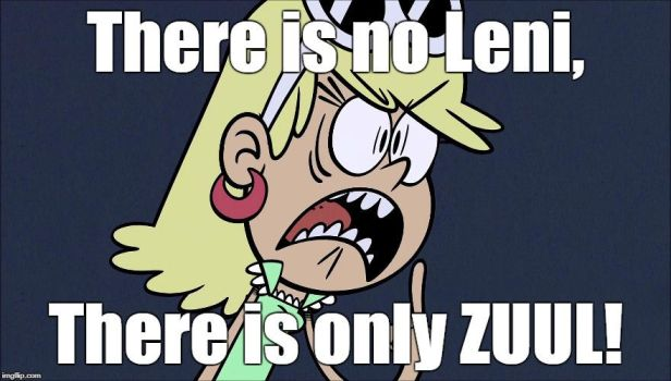 Leni possessed by Zuul by Montyclan