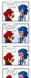 Sonic's Eye Infection by Bonus-kun