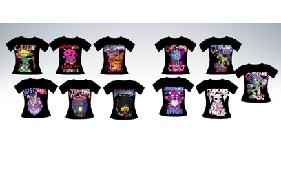 MMD Cupcake cult shirts by amiamy111