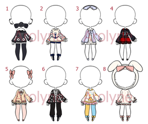 Sweater Outfit Adopts (Closed) by Arolyne