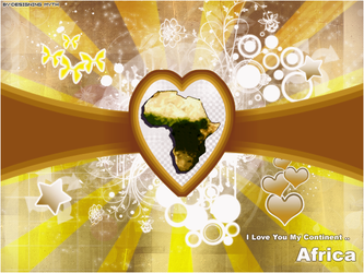 I Love You Africa by Designing-Myth