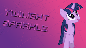 Twilight Sparkle Poster by HaloTheDash