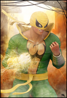 IRON FIST / Marvel by MarcMons007