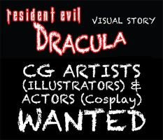 Resi Evil Dracula CG artists / Actor Wanted (Pre) by Big-Al-Son86