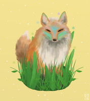 Colourful Fox [CE] by hannxm
