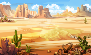 Desert by thienquang